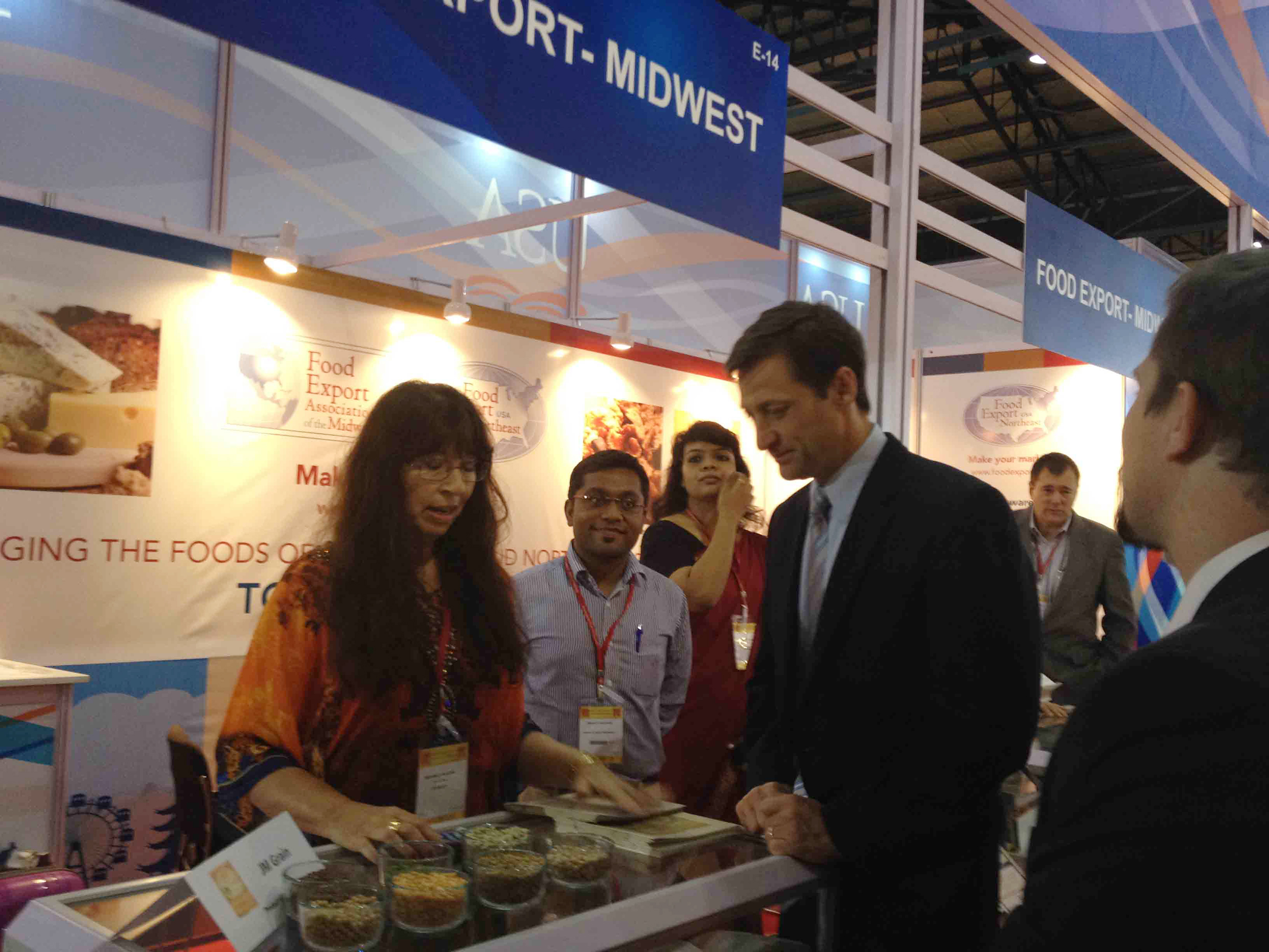 Products at India trade show