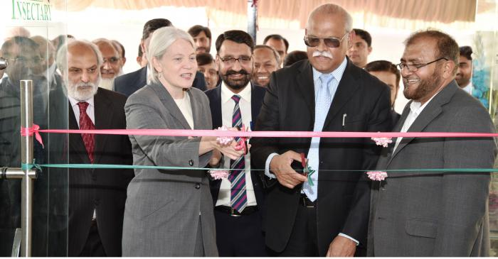 FAS-Supported National Biocontrol Laboratory Opens in Pakistan