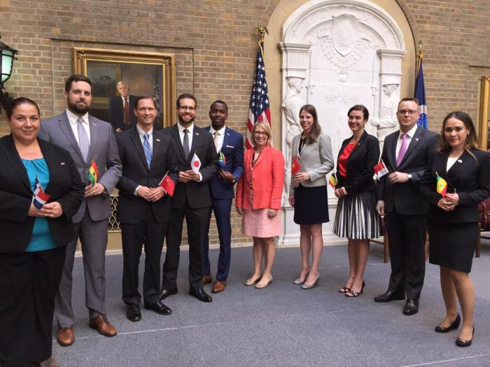 Nine New Agricultural Officers Sworn Into Foreign Service