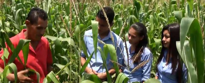 Agricultural training for young people in Honduras is an important part of the country's Food for Progress partnership with USDA.