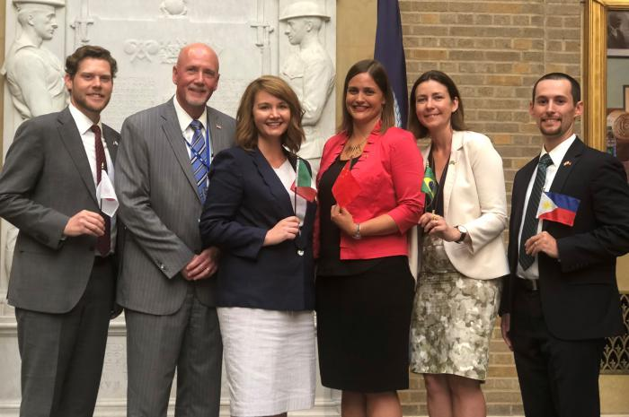 Five New Agricultural Officers Sworn Into Foreign Service