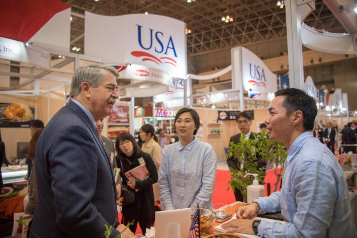 FOODEX Japan Delivers for U.S. Exporters